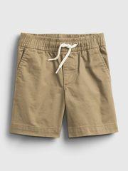 Gap Detské kraťasy poplin pull-on shorts 2YRS