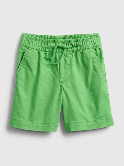Gap Otroške Kratke hlače poplin pull-on shorts