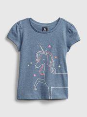 Gap Dětské tričko ss ptf gr 4YRS