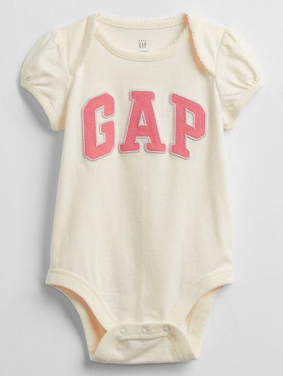 Gap Dojenčki Bodi Logo v-g elv bs