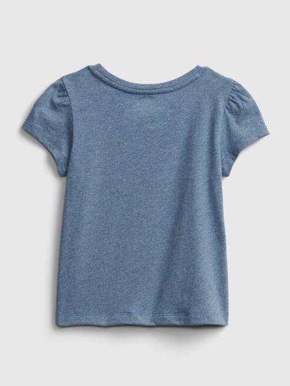 Gap Otroške Majica ss ptf gr