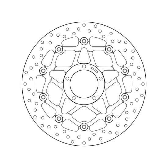 Brembo Přední brzdový kotouč Brembo DUCATI 1100 SCRAMBLER 2018 -
