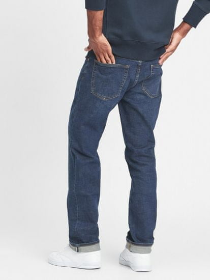 Gap Jeans hlače straight jeans with Flex