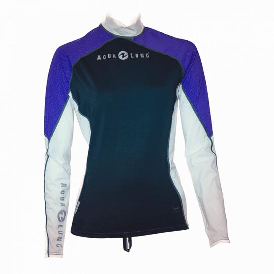 AQUALUNG Dámske lycrové tričko ATHLETIC LADY, dlhý rukáv S - 38
