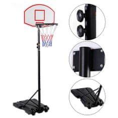 Timeless Tools Mobil állítható kosárlabda palánk