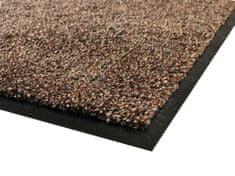 PROTISKLUZU Superabsorpční čistící rohož SCANDINAVIA 80 x 120 cm - Hnědá
