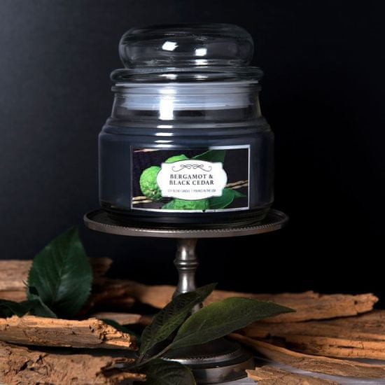 Colonial Candle Bergamot & Black Cedar mirisna svijeća, 255 g
