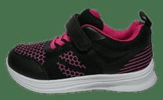 V+J 171-0020-S1/172-0029-S1_2 lány sportcipő, 22, fekete