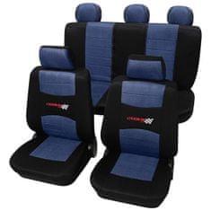 Cappa CARBONIO üléshuzat fekete/kék