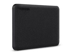 Toshiba Canvio Advance zunanji trdi disk, 1 TB, črn