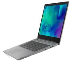 Lenovo IdeaPad 3 17HD+ i5-1035G1 12GB 256GB W10H prenosnik, platinasto siv (81WF0026SC)