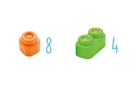 Clementoni kocke Clemmy, mekane, 12 komada, 14706