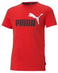 Puma Fiú póló ESS+ 2 Col Logo Tee, 92, piros