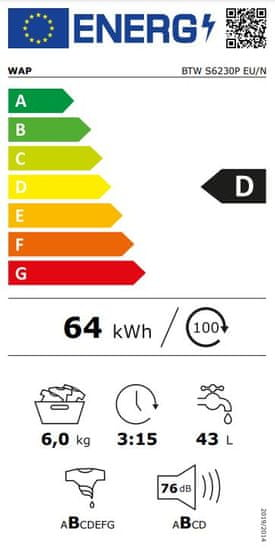 Indesit pračka BTW S6230P EU/N + 5 let záruka na motor