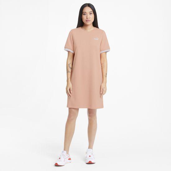Puma Obleka Amplified Dress TR Apricot Blush