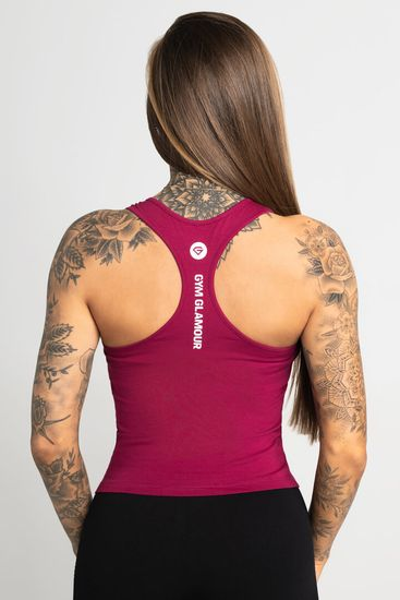 Gym Glamour Tank Top Gym Glamour Beet Red (SS21-GGTTBR/298) XS