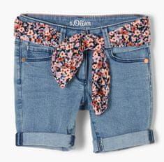 s.Oliver dievčenské džínsové šortky 403.10.103.26.180.2100931, 98, modrá