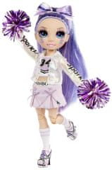 Rainbow High Fashion lalka cheerleaderka Violet Willow