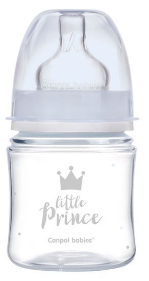 Canpol babies Royal Baby steklenica s širokim vratom, 120ml
