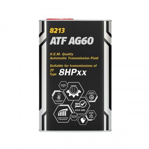 Mannol ATF AG60 ulje za mjenjač, 8HPxx, 1 l