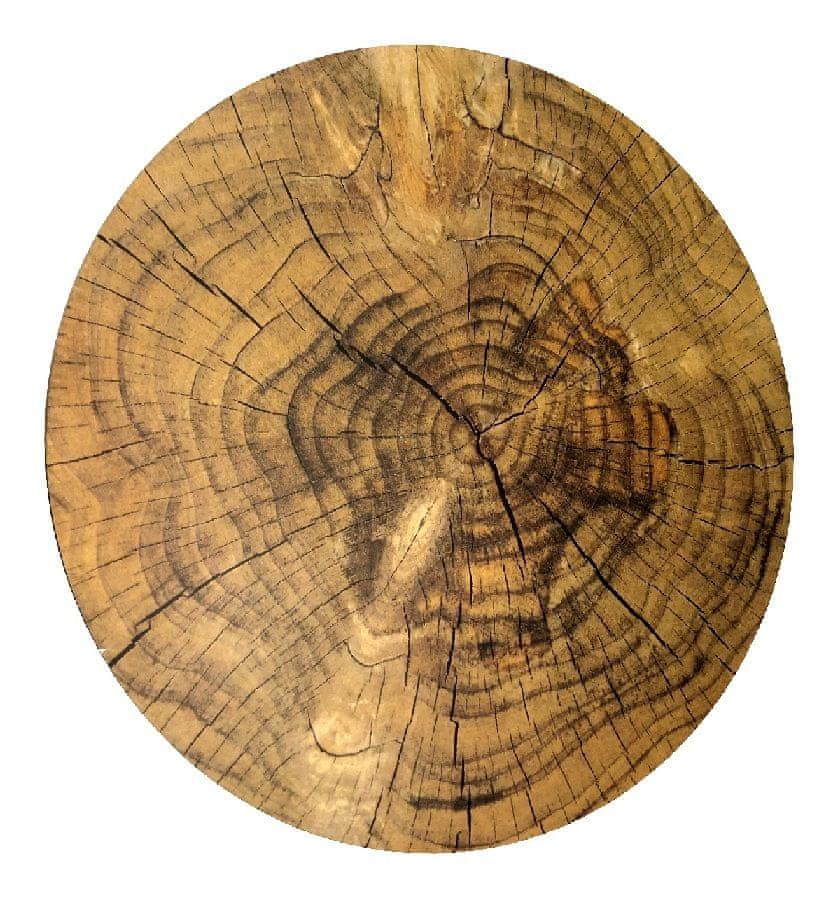 Marex Trade Korkové prostírání Ø 38 cm, imitace dřeva