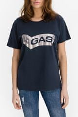 GAS Majica Francys Blue Denim XS