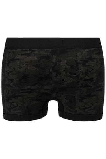 Replay Bokser spodnjice Boxer Style 03/C Seamless Cuff Logo + Camoucork 2Pcs Box - Black/Military