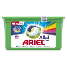 Ariel Touch of Lenor 3 in 1 mosókapszulák 33 db