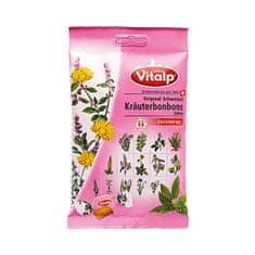 Topvet VITALP bylinné bonbony šalvěj bez cukru 75 g