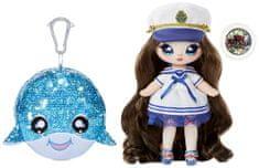 Na! Na! Na! Surprise lalka w brokatowym zwierzątku 2w1 - Sparkle Whale