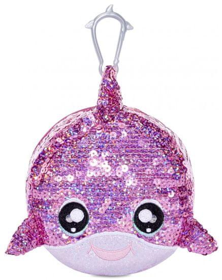 Na! Na! Na! Surprise lutka v bleščeči živali Sparkle Dolphin, 2v1