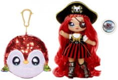 Na! Na! Na! Surprise lutka v bleščeči živali Sparkle Parrot, 2v1