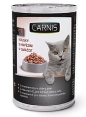 Carnis Konzerva pro kočky hovězí 24 x 415g