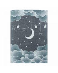 Ayyildiz Detský kusový koberec Funny 2101 blue 200x290