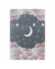 Ayyildiz Detský kusový koberec Funny 2101 pink 200x290