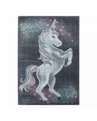 Ayyildiz Detský kusový koberec Funny 2102 grey 200x290