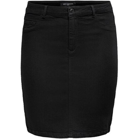 Only Carmakoma Dámska sukňa CARTHUNDER 15235737 Black
