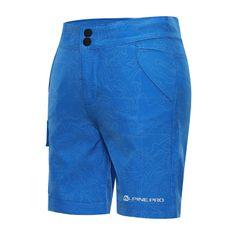 ALPINE PRO fiú rövidnadrág Denielo, 152 - 158, kék