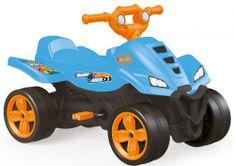 DOLU Dětská šlapací čtyřkolka modrá Hot Wheels