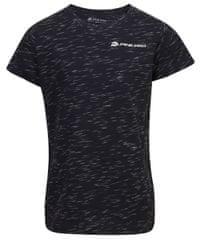 ALPINE PRO otroška majica Gango 3, 104 - 110, črna