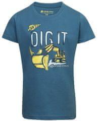 ALPINE PRO fantovska majica Sporo 3, 92 - 98, modra