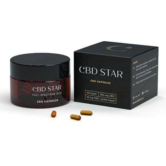 CBD STAR CBG KAPSLE – 5% CBG 30 kapslí