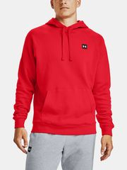 Under Armour Pulover Rival Fleece Hoodie-RED L