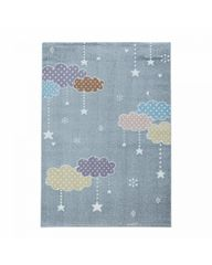 Ayyildiz Detský kusový koberec Lucky 3611 grey 200x290