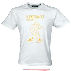 Schwarzwolf COOL SPORT MEN funkční tričko bílá