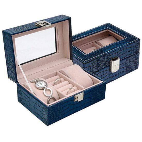 Jan KOS Temno modra škatla za nakit SP-1813 / A14