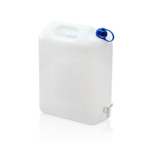 TBA Plastové obaly s.r.o. Kanystr na pitnou vodu 20 L s kohoutkem