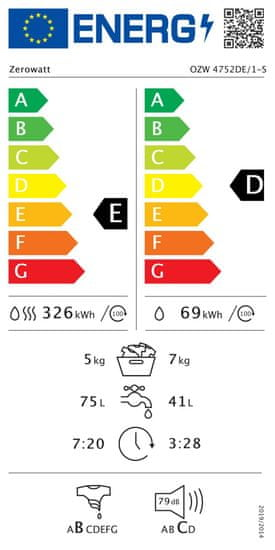 Zerowatt OZW 4752DE/1-S + 3 roky záruka