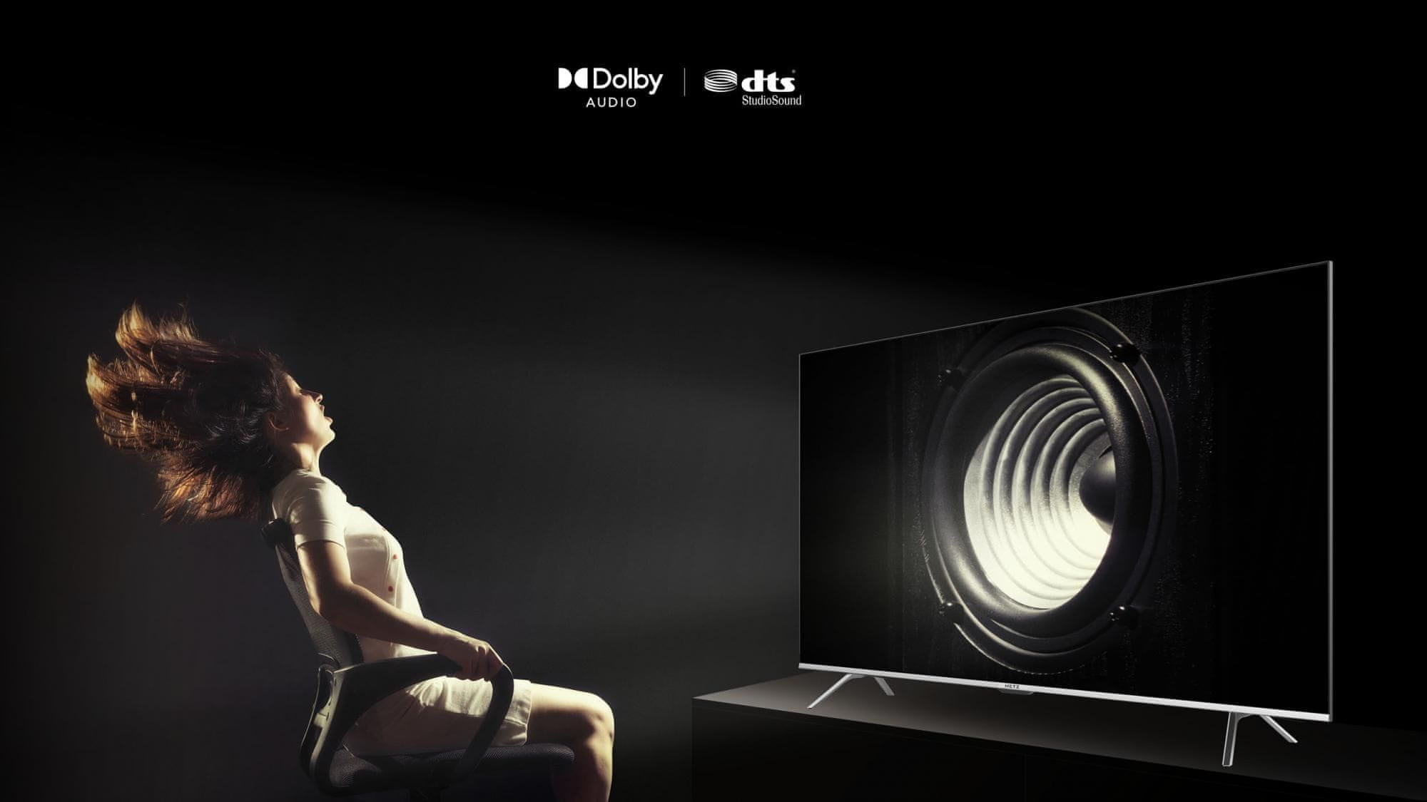 Metz UHD 4K smart tv televiízió dolby audio dts studiosound wonder audio 2021