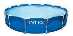 Intex Bazén s kovovým rámem 366 × 76 cm W148210